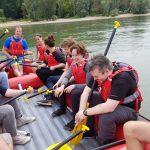Rheinrafting mit dem Mediennetzwerk.NRW