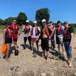 Business-Rhein-Rafting mit Schlauchbooten
