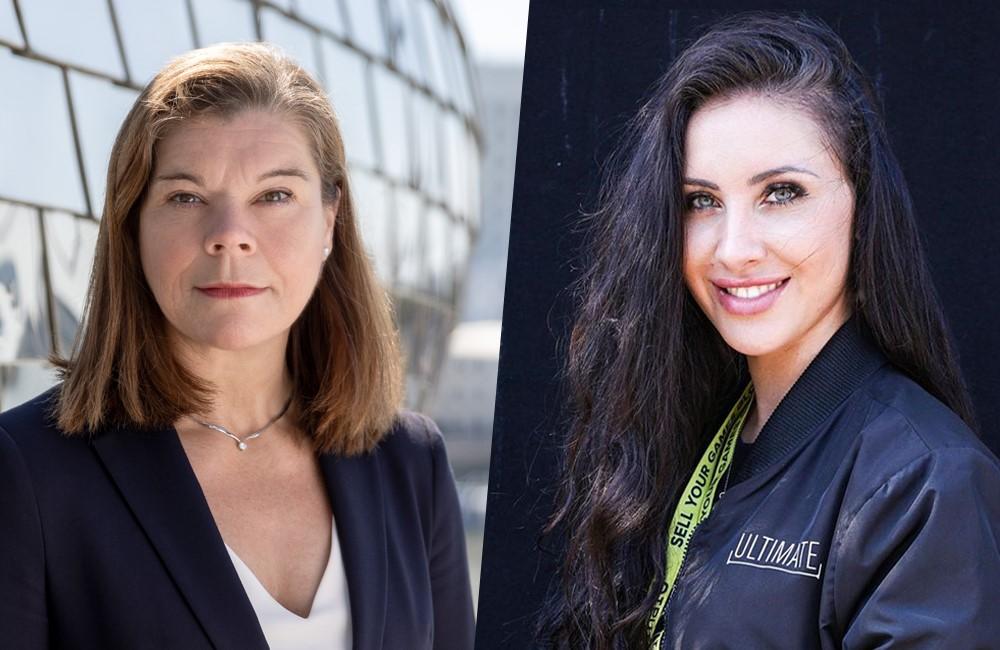 """Sandra Winterberg"" und Jasmin ""Gnu"" Kooperation NRW Gamesbranche Discovery"