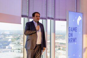 Nathanael Liminski (Chef der Staatskanzlei NRW) beim Private Screening der gamescom: Opening Night Live